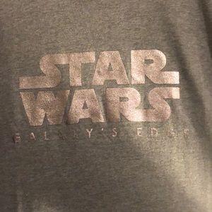Disney Tops - Star Wars Galaxys Edge Tee
